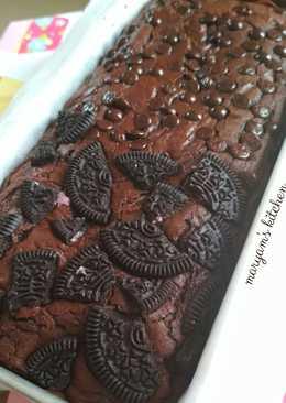 Shiny Crust Brownies Topping Choco Oreo 🍫