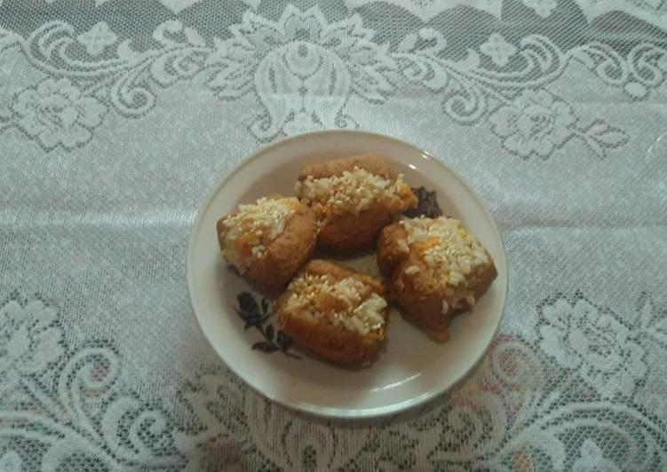 Resep Yubuchobap(Tahu goreng isi nasi Korea) ala Vey By Vera (Iboe's Kitchen)