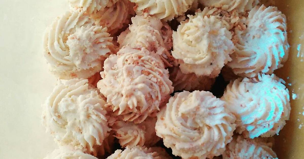 Resep kue sagu keju crunchy