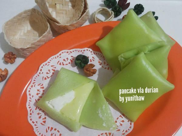 Pancake Vla Durian