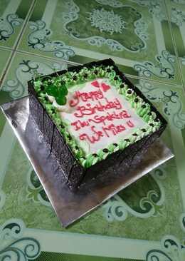 2676 resep kue ulang tahun tanpa oven dan mixer enak dan sederhana