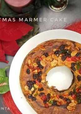 Christmas Marmer Cake