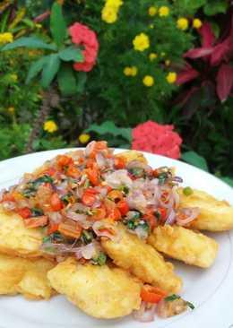Fish Fillet Sambal Dabu-Dabu