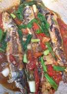 Ikan pindang masak saos