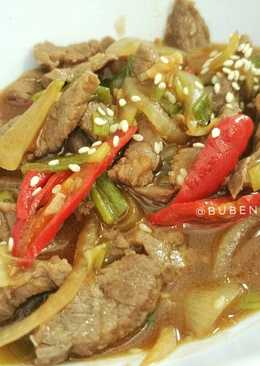 Daging Saus Teriyaki