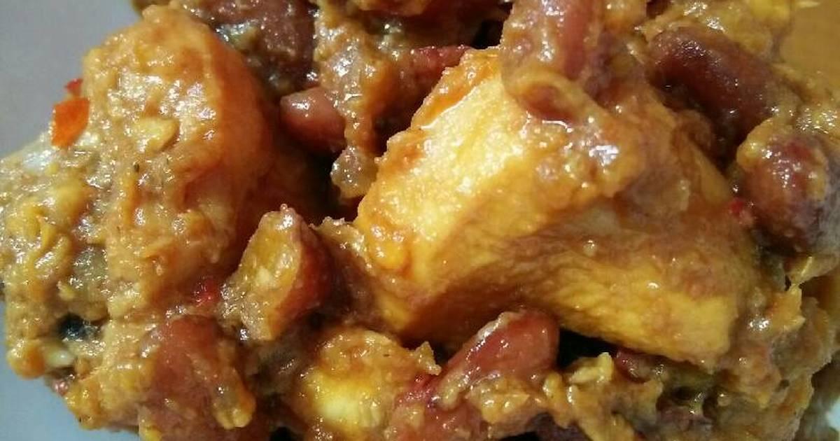 10 resep rendang ayam kacang merah padang enak dan