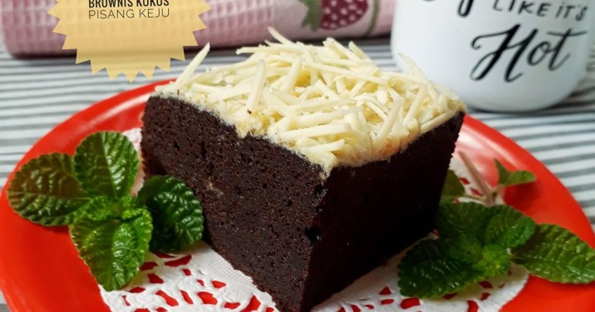Brownies Kukus Pisang: 948 Resep Brownies Kukus Keju Enak Dan Sederhana