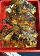 Ikan bawal bakar bumbu padang {saya bakar pake teflon}
