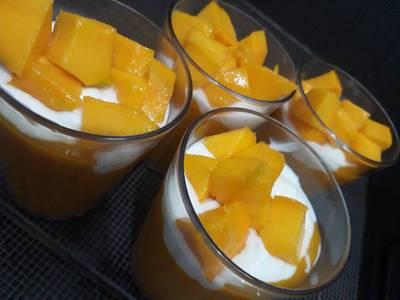 King mango yoghurt #enakanbikinsendiri