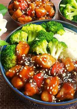 Teriyaki Chicken Bowl + Broccoli #Bandung_recookNovaliarika#