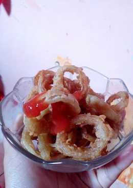Onion ring ala ala 😍