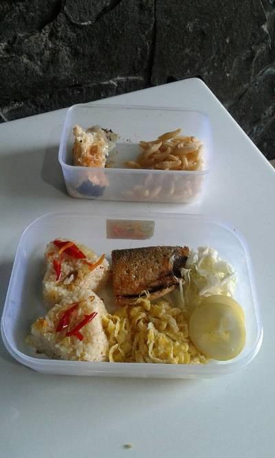 Nasi goreng blueband #bekal #bantumantenbaru