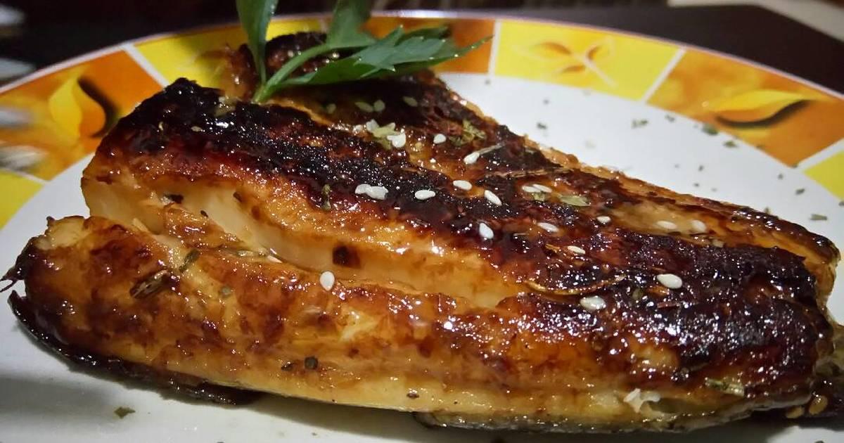 Resep Grilled Gindara Cod With Miso Sauce Gindara Panggang Dengan Sau Oleh Wina Astarina Cookpad