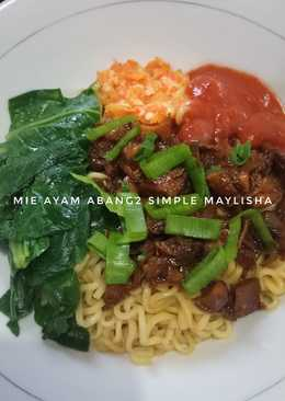 Mie Ayam Abang2 Simple