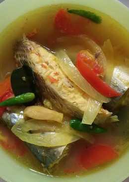 Sup ikan mix 🐟 🍜