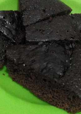 Bolu rasa brownis #teflon