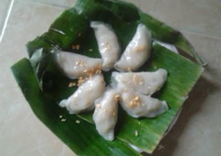 bahan dan cara membuat Chai kue/choipan