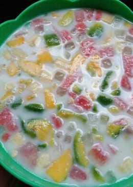 Es buah tanpa sirup ala ibu mirza
