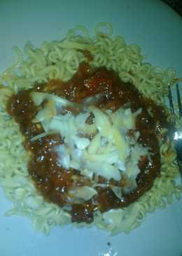 Spaghemie (Indomie bumbu Spaghetti)