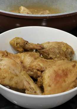 Ayam hip (ungkep bumbu kuning)