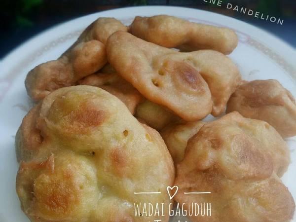Gaguduh Tiwadak (Kue Buah Cempedak Goreng) #Dandelion