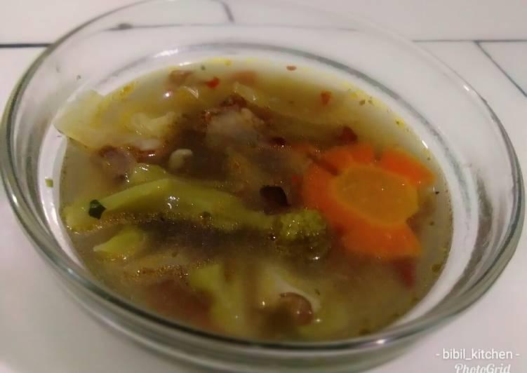 Sop sayur daging sapi #selasabisa #BikinRamadanBerkesan