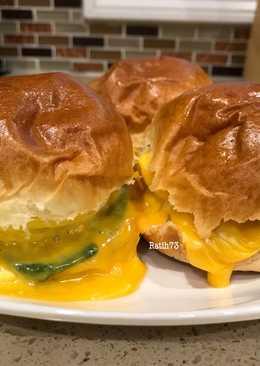 Extra Cheese Burger Bekal Anak