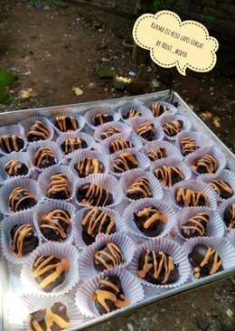 Kurma isi keju lapis coklat