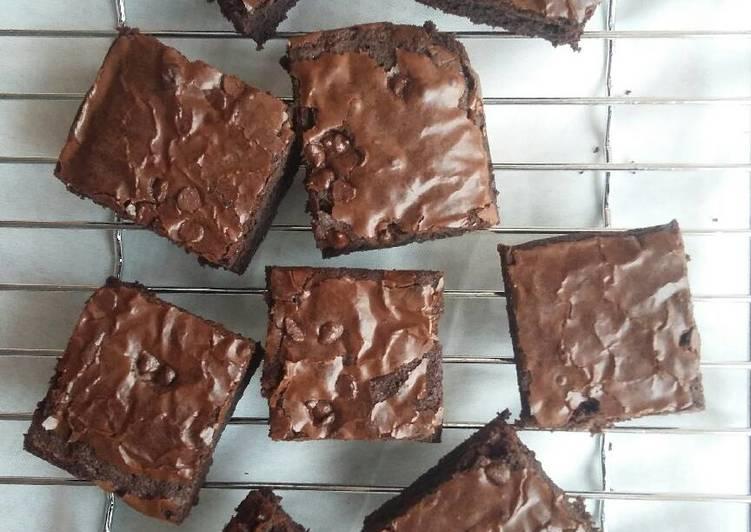 resep makanan Brownies panggang