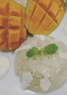 how to make mango sticky rice sauce