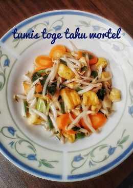 Tumis Toge Tahu Wortel #Bandung_recookLeniDenyra