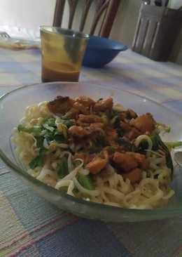 Mie ayam home made simple