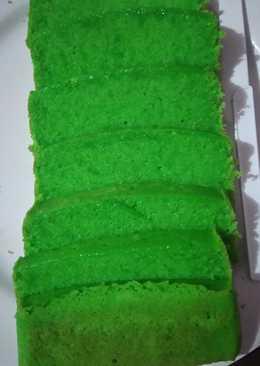 Condensed Milk Pandan Pound Cake