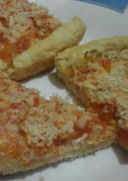 Pizza homemade saos ayam