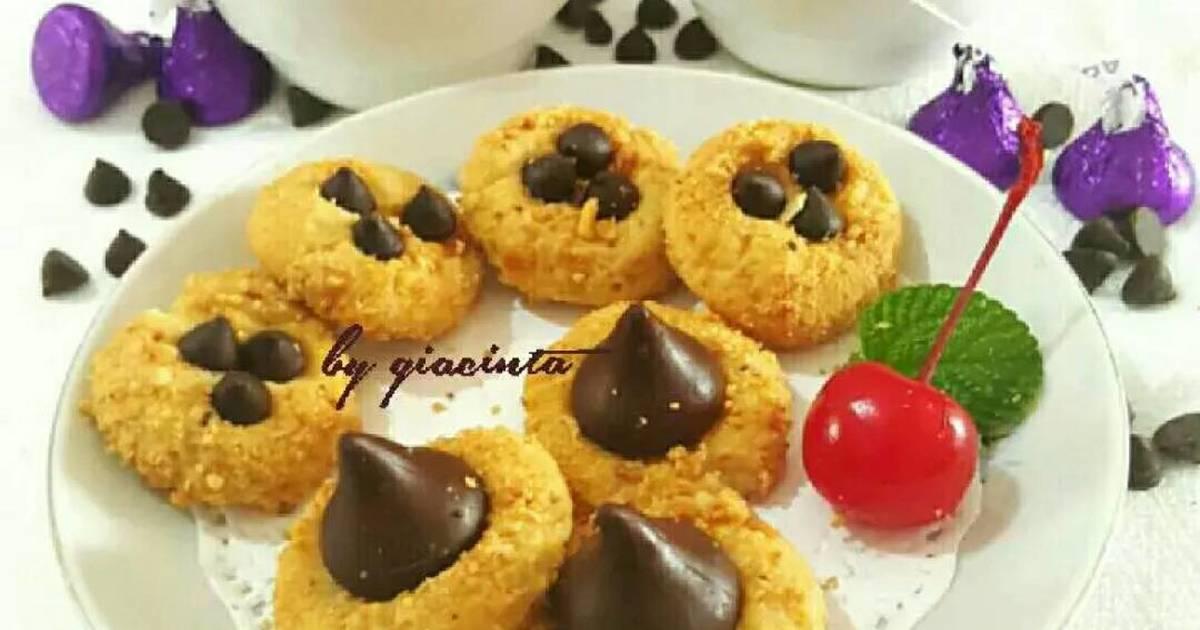 Resep Kukis kacang coklat
