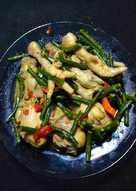 Gulai Ayam + Kacang Panjang