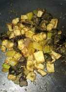 Sambal goreng pete Hatake (hati ayam, tahu, kentang)