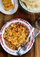 Nasi Goreng Daging Asap