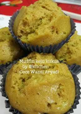 Muffin keju kukus