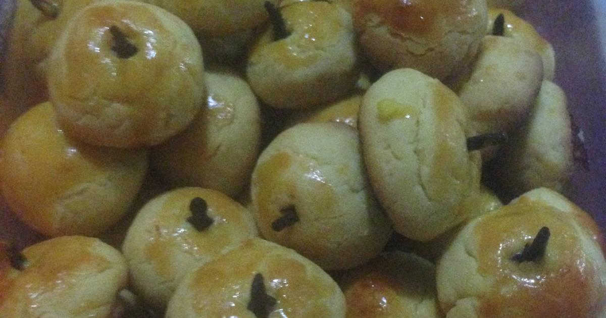 Resep Kue nastar renyah (no mixer, praktis)