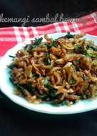 Teri kemangi sambal bawang #pr_wantuteri