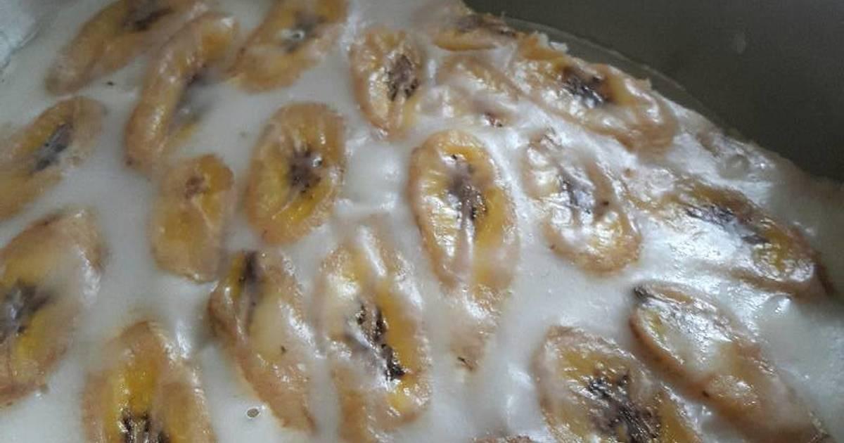 Resep Kue pisang nagasari kukus