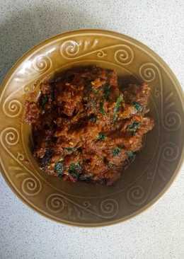 Sambel kemangi kembung goreng