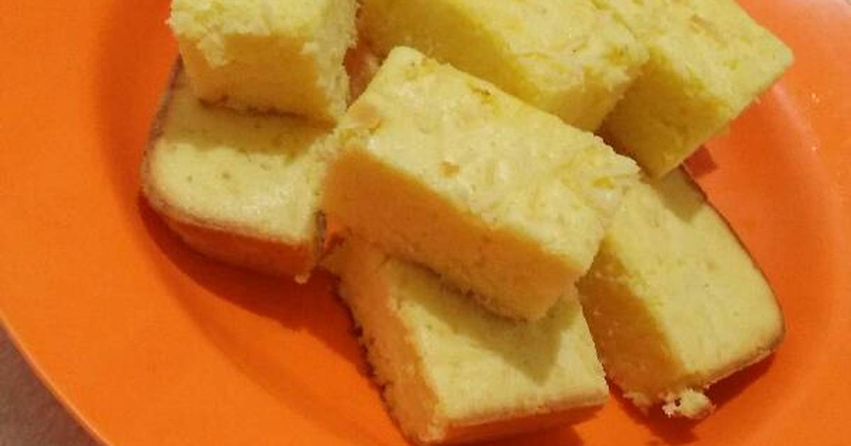 Resep Cake Jadul Sederhana: Sponge Cake Sederhana