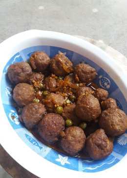 Bakso Daging isi Telur Puyuh