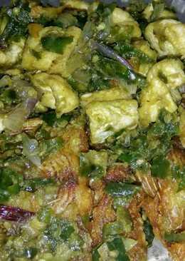 Nila goreng Samba lado hijau