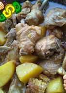 Ayam mentega pedas