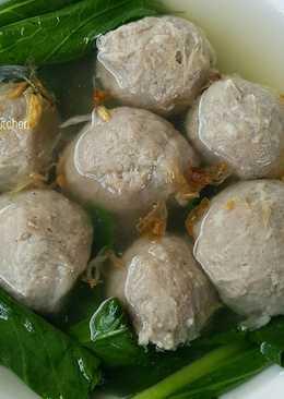Bakso Sapi...kenyal enak tanpa baking powder 😍👍
