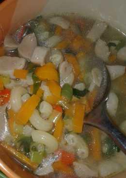 Sup Makaroni Bakso