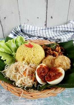 Nasi kuning #PR_homemadestreetfood